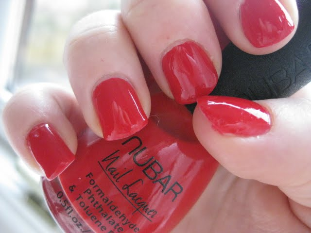 nubar sexy red nail lacquer