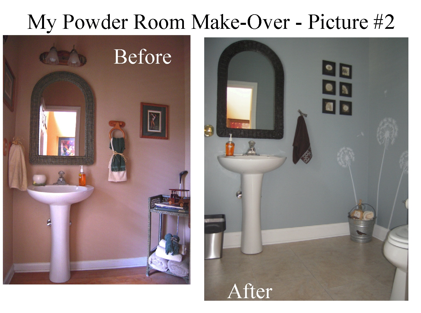 A Day In The Life Of A Brown Eyed Girl My Powder Room