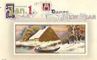 1 January Card