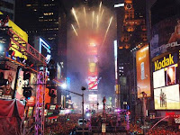 new york new years eve card