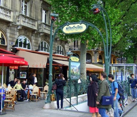 All things french favourite metros in paris - Saint michel paris metro ...