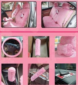Hello Kitty Car Seat Cover (18pcs Full Set)