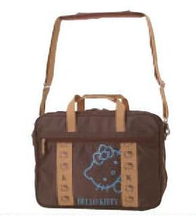 NEW Hello Kitty Laptop Bag (FACE BROWN)