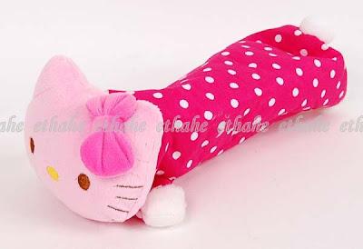 Hello Kitty Plush Pencil Case