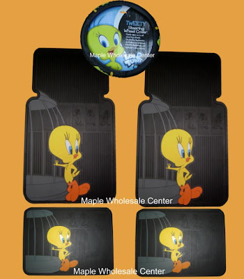 5pcs Tweety Bird Car Accessories