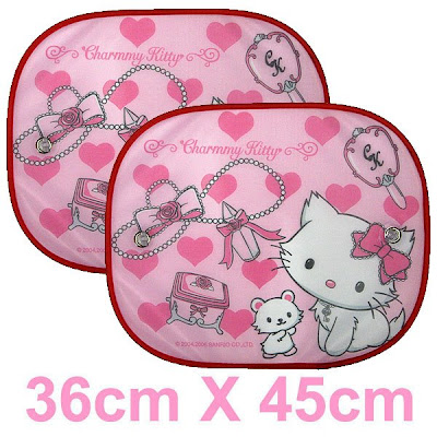 Charmmy Kitty Car Window Sunshade