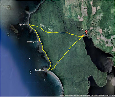 the hikemasters trail descriptions the ozette coastal wilderness