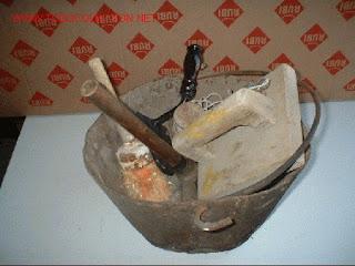 Aquel tiempo de mi infancia herramientas del t pico - Herramientas del albanil ...