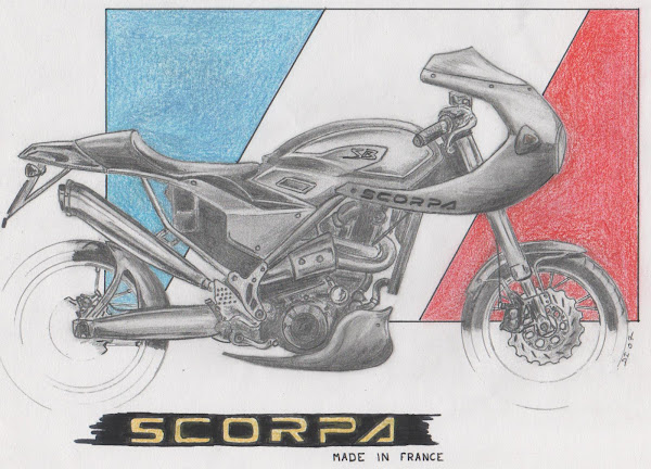 Scorpa café racer