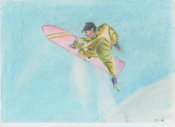 Surfeur sur le net