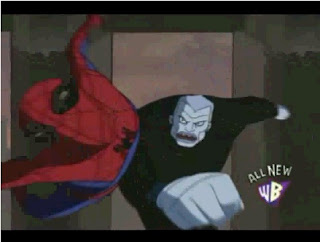 spiderman vs tombstone