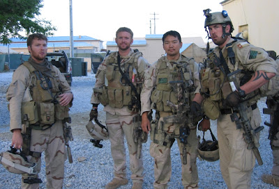 Marcus Luttrell and the other team members