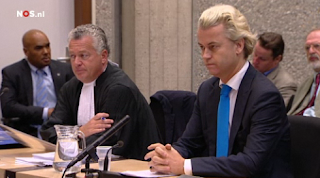 Geert Wilders before court of Jan Moors