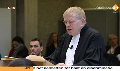 Wilders Trial plaintive lawyer Prakke (18 October 2010)