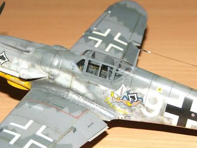 Messerschmitt Bf-109 G-6 1/48 Hasegawa