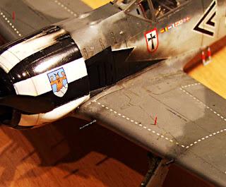 fw-190 A-4 1/48 scale tamiya