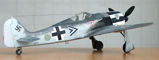 fw-190 A-4 Focke Wulf 1/48 Tamiya