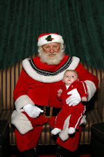 Theo with Santa