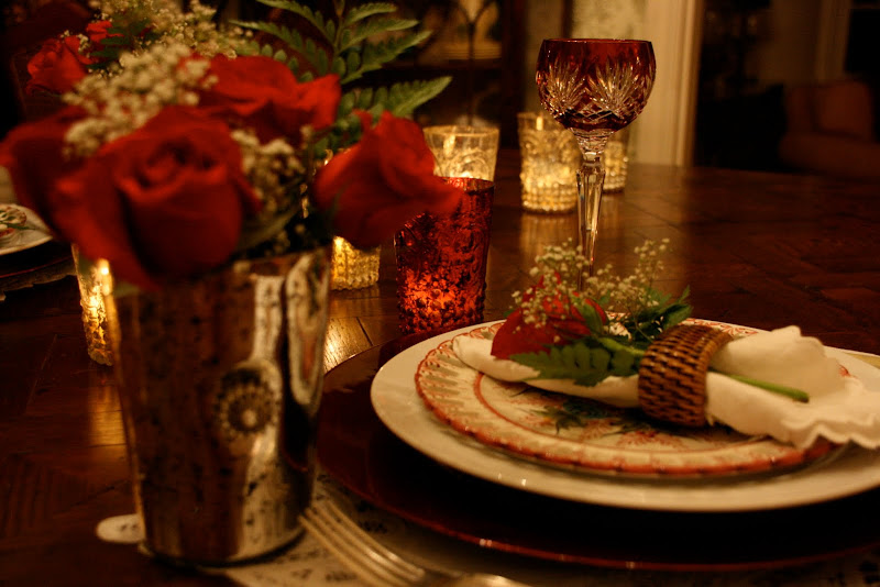 vignette design romantic valentine candlelight dinner