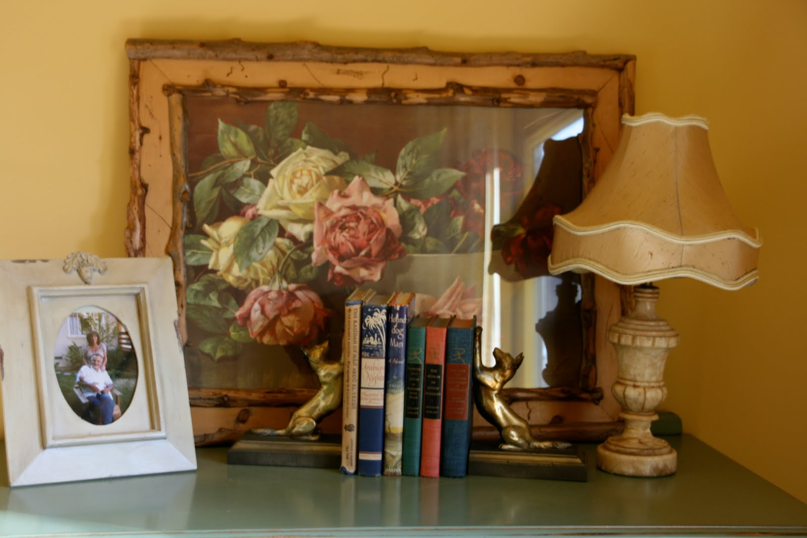 Vignette design our wine country guest room for Wine country decorating style