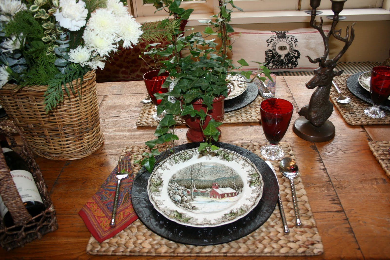 Christmas Tablescapes From The Past Minhas Id Ias De Design