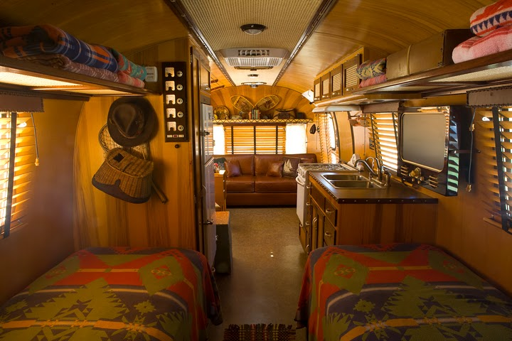 found this photo of a Ralph Lauren inspired Airstream. Sorry, I can