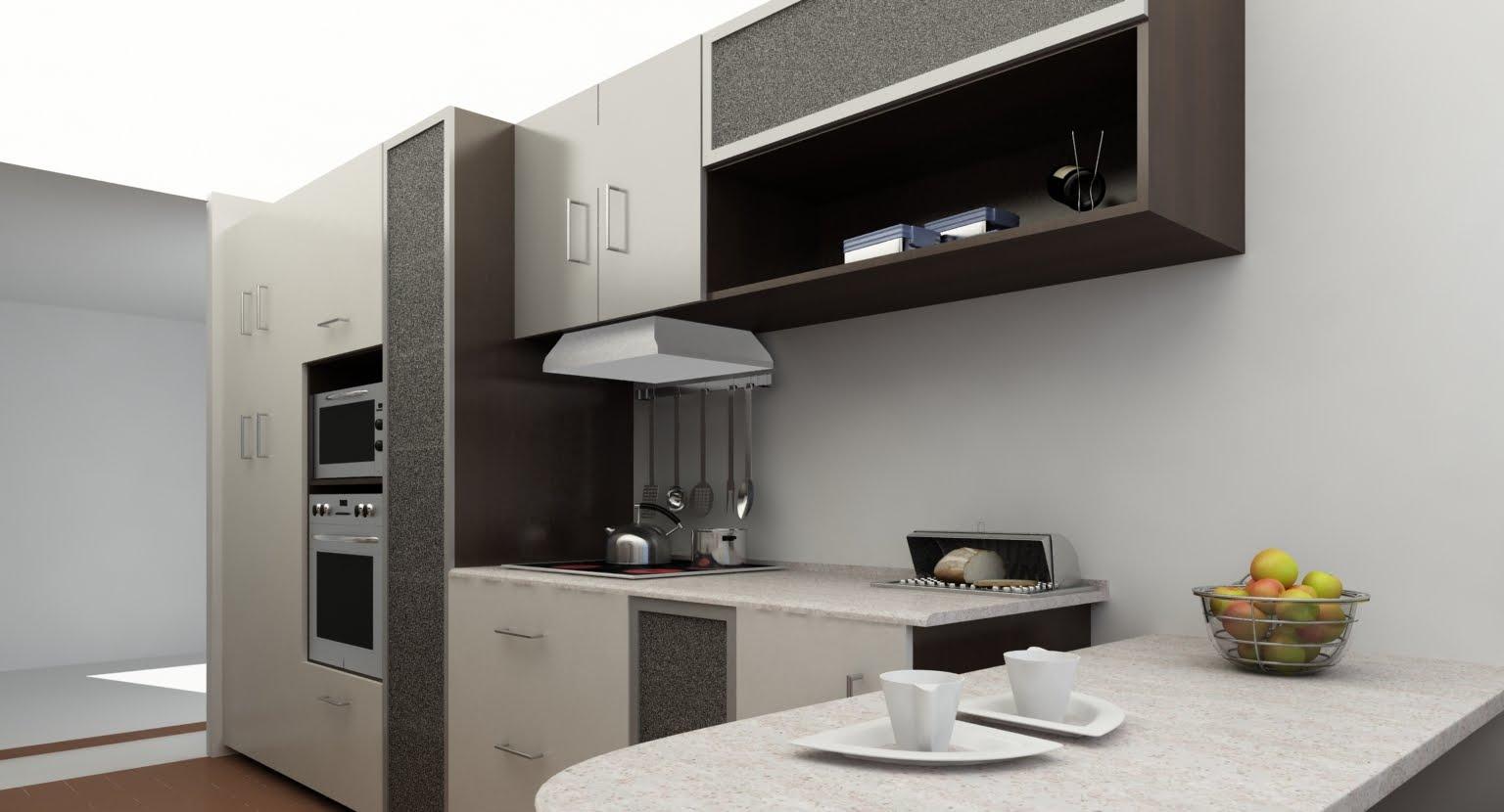 Conceptoaro dise o fabricacion de muebles propuesta de for Muebles de cocina departamento
