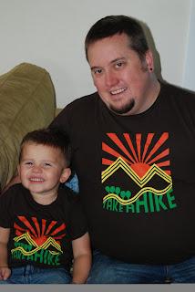 matching - Take a Hike! T-Shirt Review