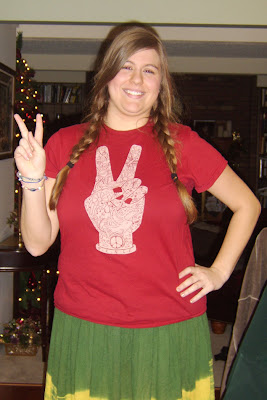 Peace Hand Symbol Tee shirt