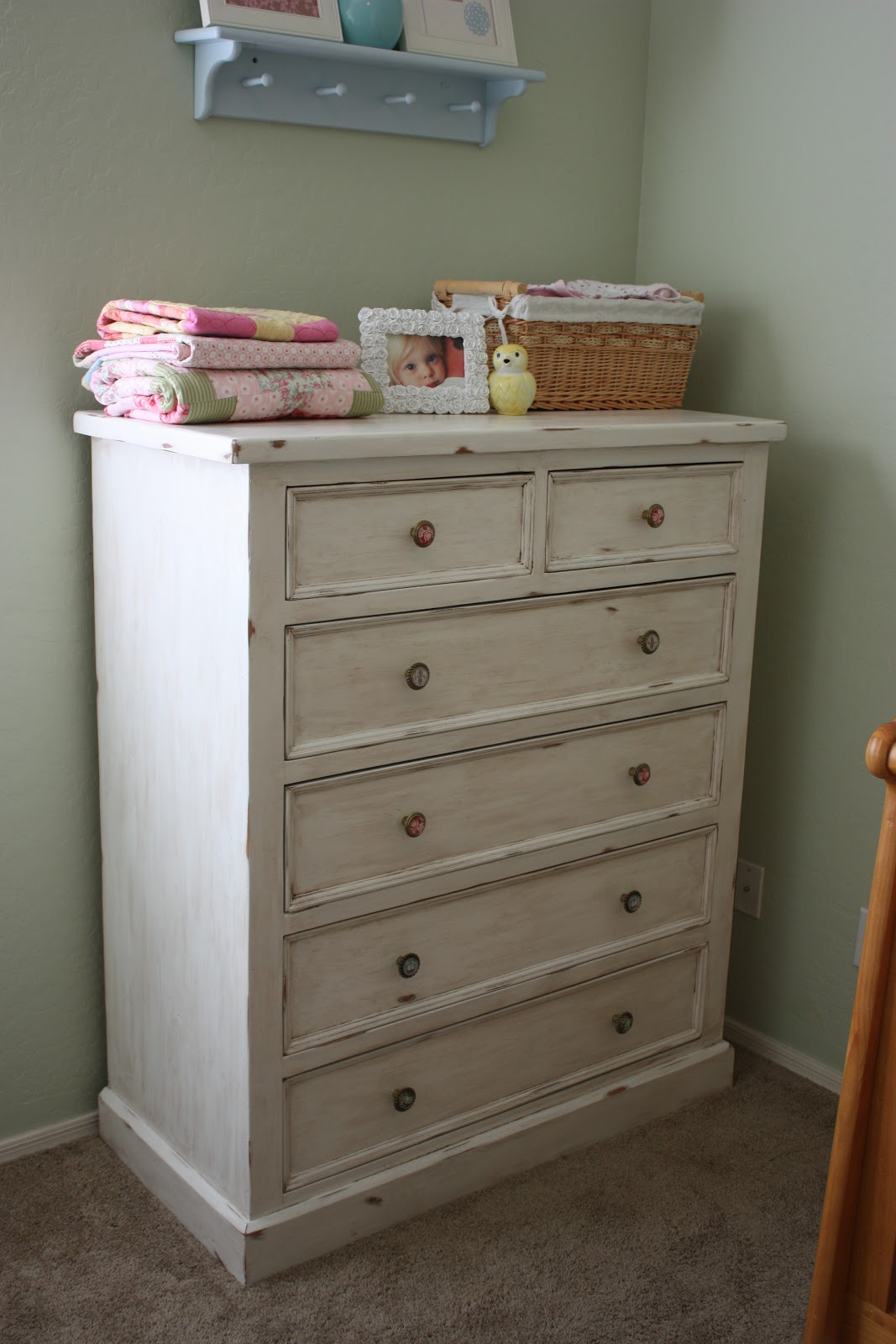 The pretty poppy how to refinish furniture in a vintage style for Redo furniture