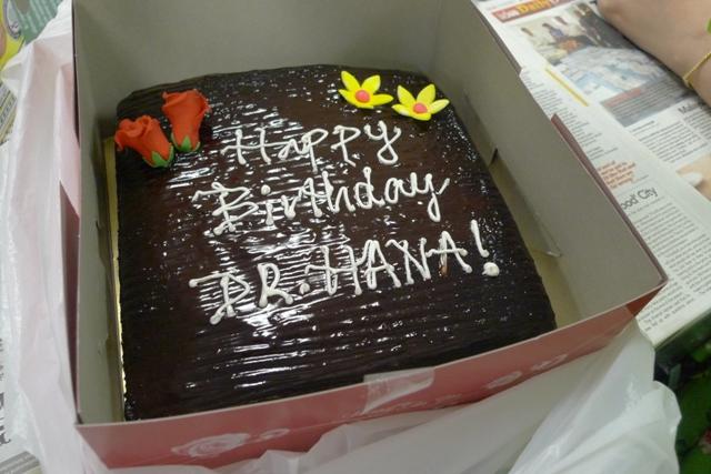 Happy Birthday, Boss!
