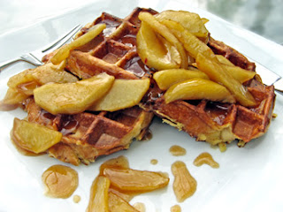... for another great recipe ! I made waffles instead of pancakes (used