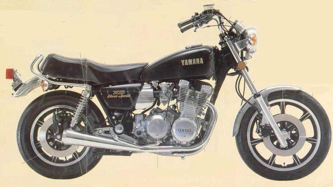 X MOTOS  yamaha xs eleven especial sf 1100
