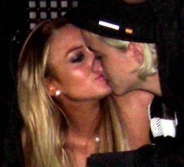 brooke hogan kissing