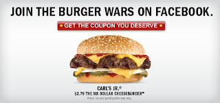 Fat Pride Times: Carl's Jr. Six Dollar Cheeseburger For $2 ...