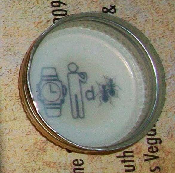 Mickey S Beer Cap Puzzle Answer Board Mickeys Beer Cap