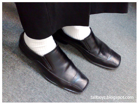 church shoes with white socks ebonerd nerdswagger