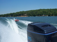 Tubing on Lake Thunderbird