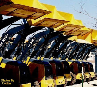 Yellow Front Loaders