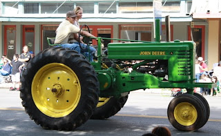 John Deere Tractor in Comal County Parade