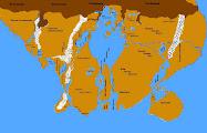Un mapa aproximado