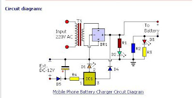 Build your Gadget Mobile Phone Battery Charger Circuit