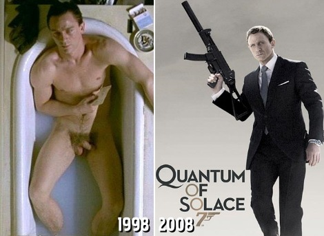 Daniel Craig has done nude scenes before 007 in a movie called Love is the ...