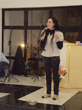 Cantora Talita Pagliarim na Lapa