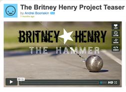 Britney Henry Video
