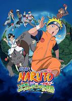 Naruto la pelicula 3: La gran excitacion! Panico animal en la isla de la Luna (2006) online y gratis