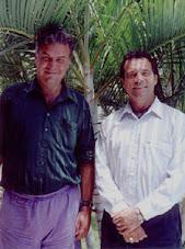 Ο δρ.Καρλ Γιόχαν Κάλεμαν με τον κ.Ίαν Ξελ Λάνγκολντ