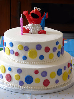The Elmo Cake Was For Our Dear Friends That Just Moved Back To Orlando From California Their Daughter Turned One And She Is Due In November With