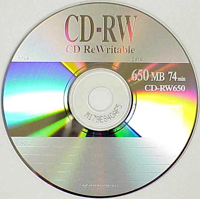 grabadora cd r cd rw: