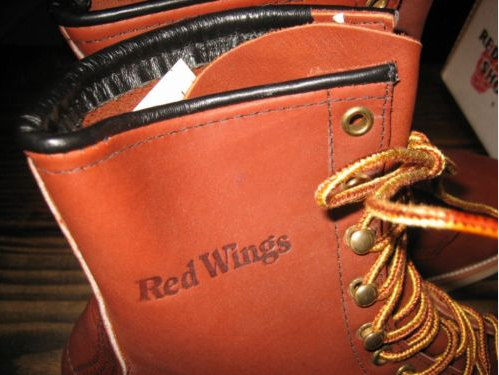 199b3668a7edc A fine example of a pair of Red Wing Shoes that is completely unfamiliar to  me is this 708 found on Ebay. It is in mint condition and it seems to be ...